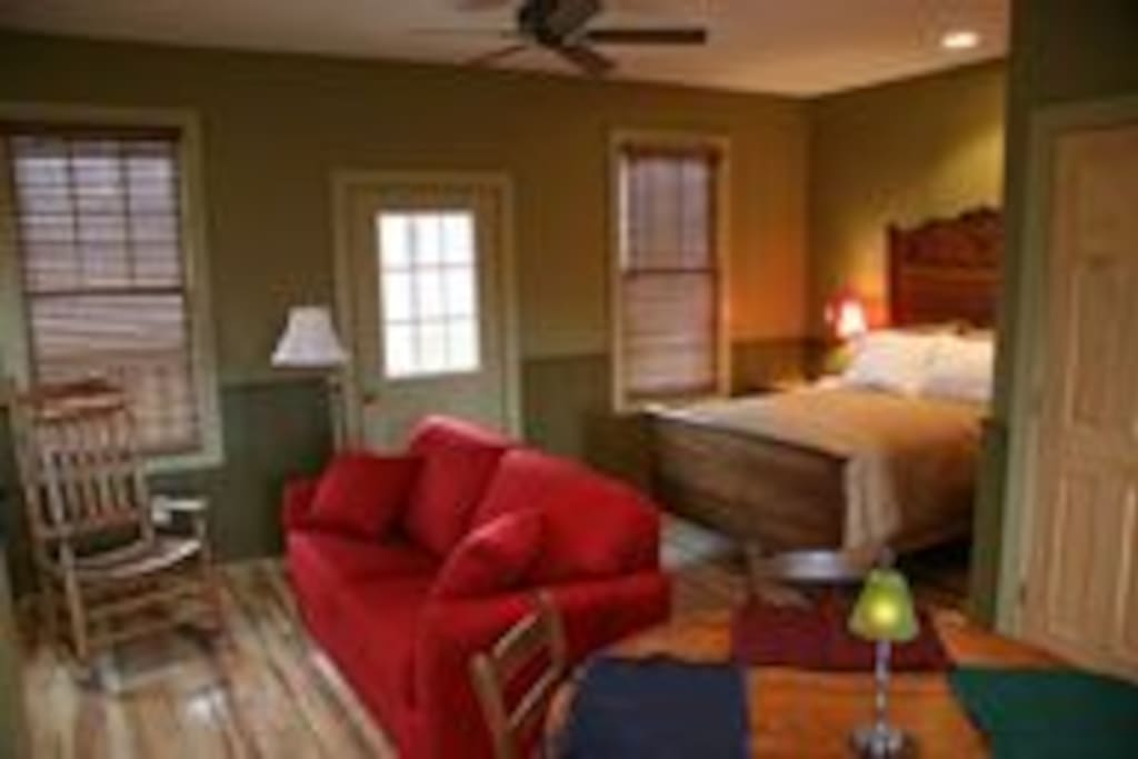 All the comforts of home await you inside The Mill House!