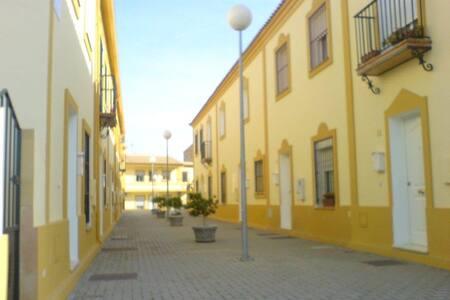 Casa rural.Campiña de Sevilla.Tranquila y familiar