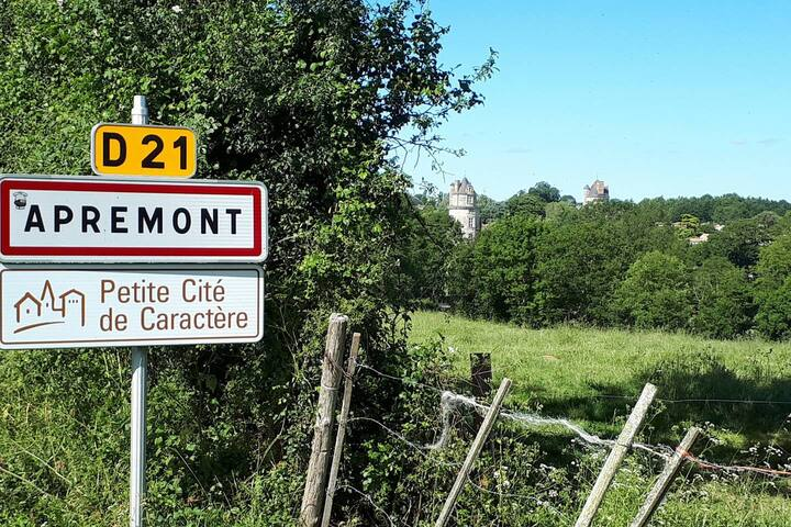 lovely home in beautiful surroundings in apremont