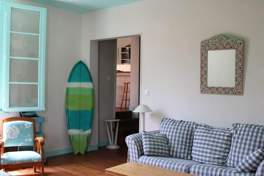 La villa tamaris chambre lagoon 3 lits maisons louer - Chambre d hote vieux boucau les bains ...