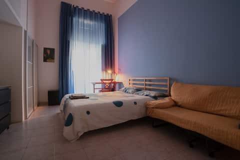 Apartamento de dois quartos em Nápoles Centro Storico