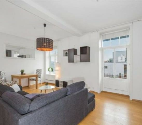 Sweet apartment in the city - Skien - Departamento