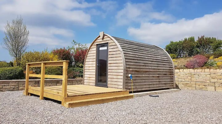 Glamping Pod on Combs Valley Campsite