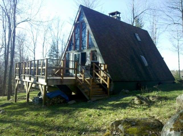 Adirondack Mountainside A-Frame - Jay - Chatka