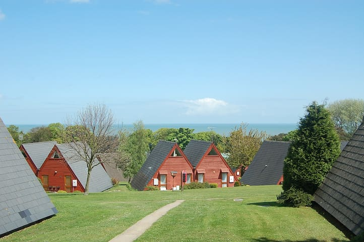 Beautiful seaside holiday chalet - Kingsdown - Chalupa