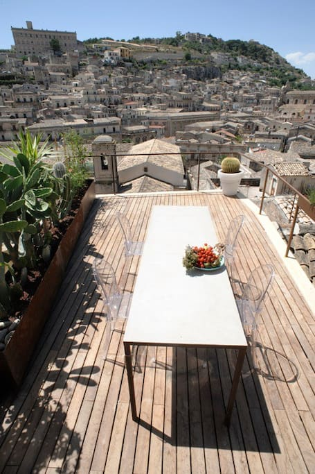 A  Terrace  overlooking  Modica