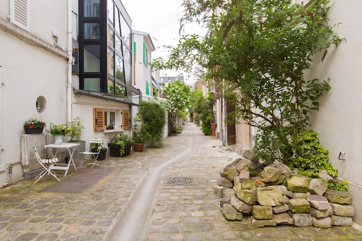 A charming place on a paved alley - Paris - Flat