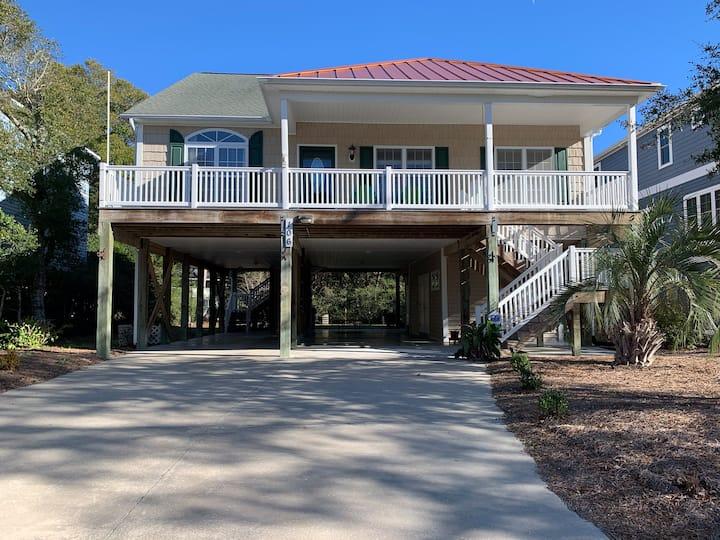 Perfect Beach House!! Rare beach/canal(ICW) access