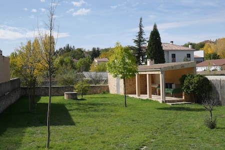Casa luminosa,jardín, gran cenador, Parque Natural