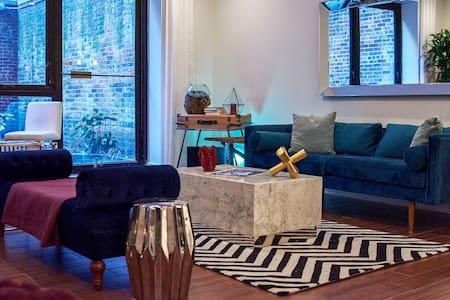 Greenwich Village Artsy Chic Suite & Shared Garden - New York - Apartment