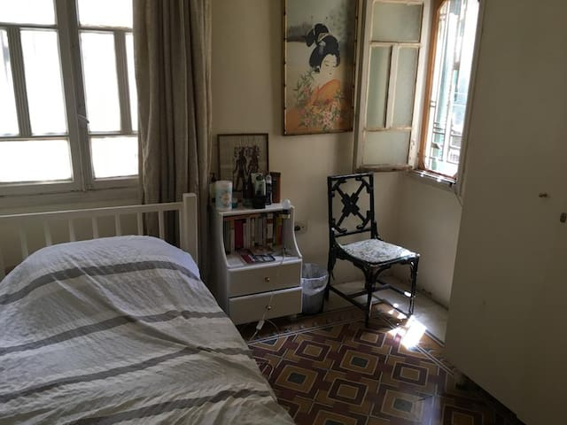 Cozy, airy, sunny room in heart of Beirut