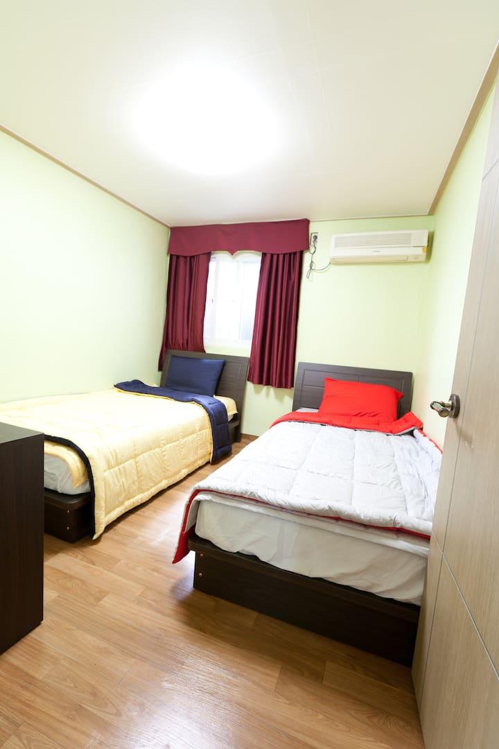 트윈룸 Twin beds