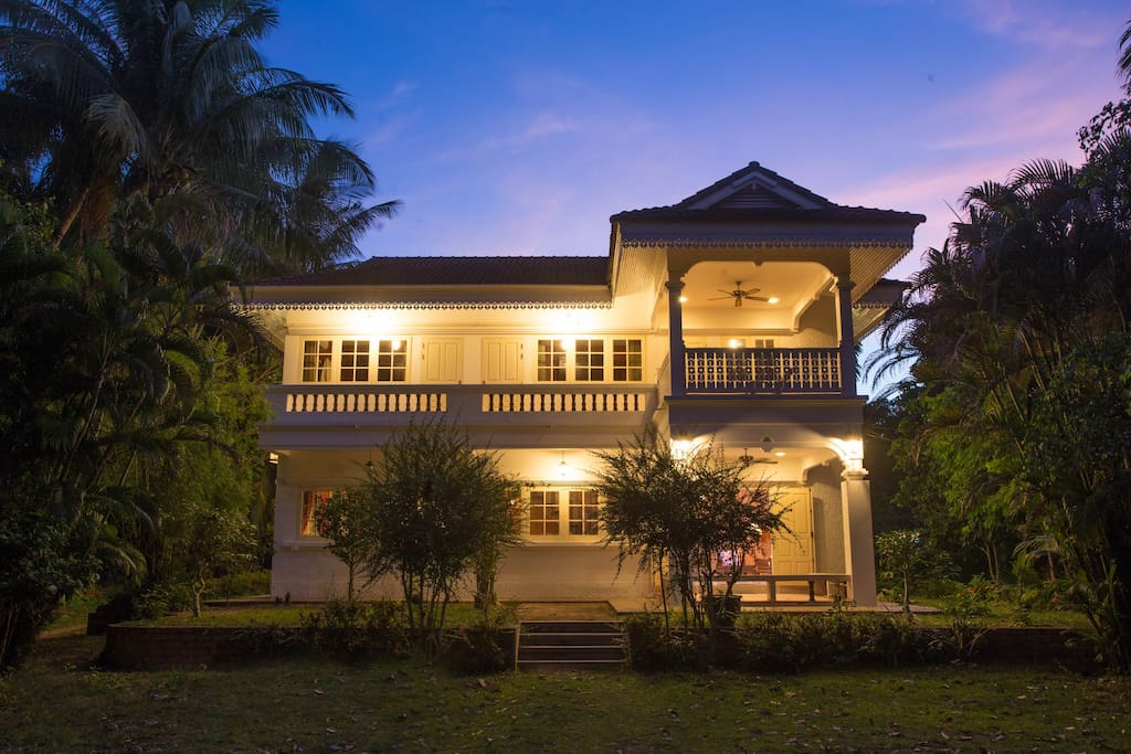 Beautiful Villa in colonial style only 3-5 minutes walking distance [about 350meters] to the beach