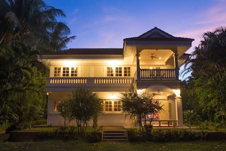 Private Colonial 4beds House Samui. - Haus