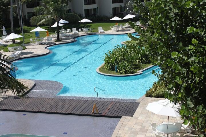 Lindo Flat no Marulhos Suítes Resort