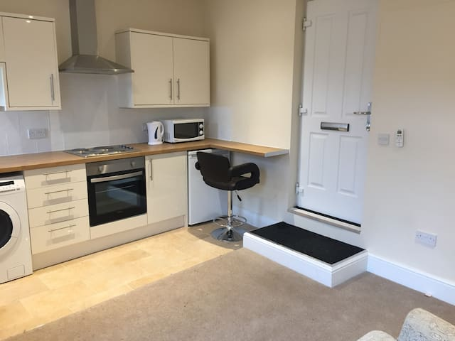 Studio apartment 3C, Whalley Village Centre - Whalley - Apartamento