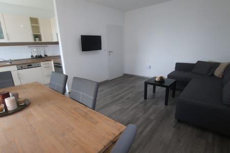 Modernes Apartment - zentral mit schöner Aussicht - Daire