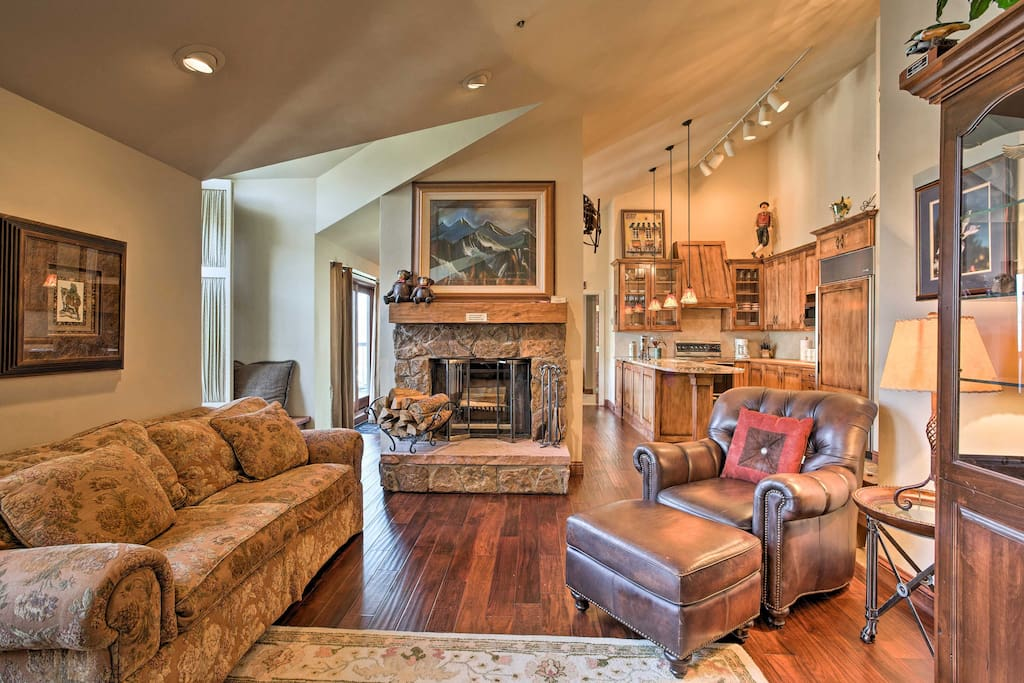 Step inside and enter the tastefully decorated, Beaver Creek Home!