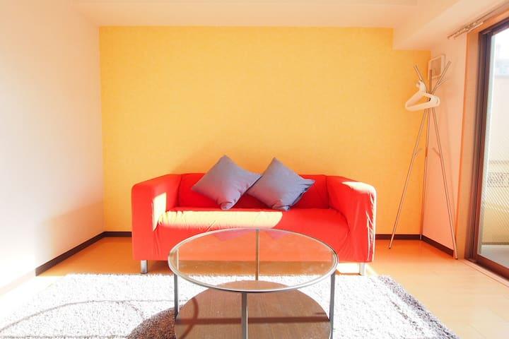 #12 ★Free Wifi★ Designer-brand condominium - Ōsaka-shi - Lejlighed
