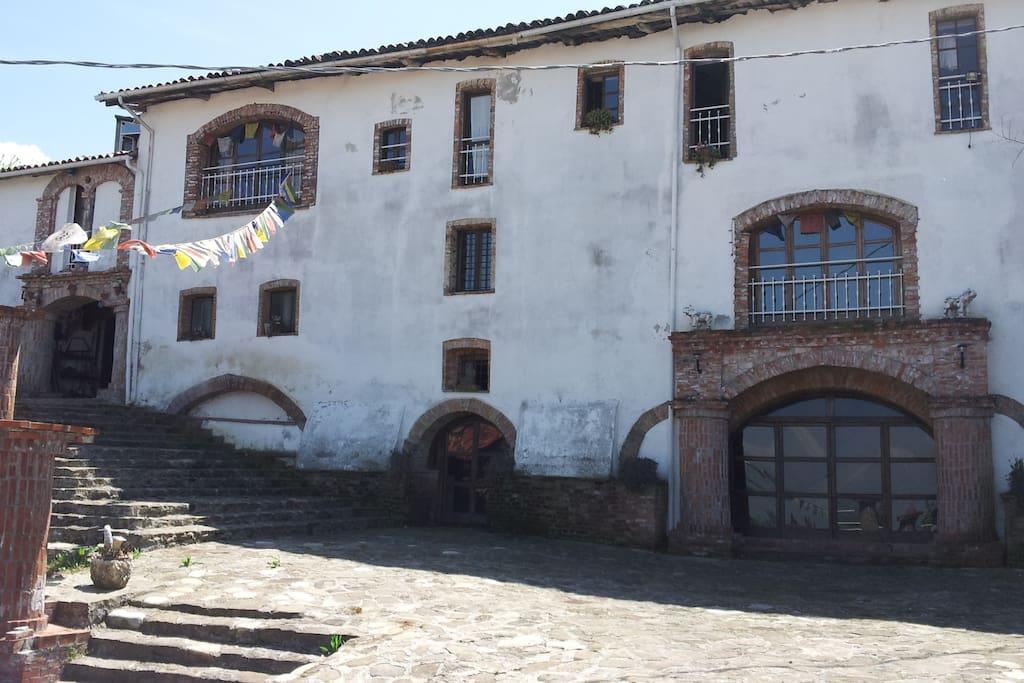 facciata Dimora Storica ingresso principale