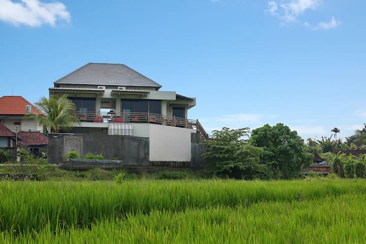 Apartment 2 in the rice paddies