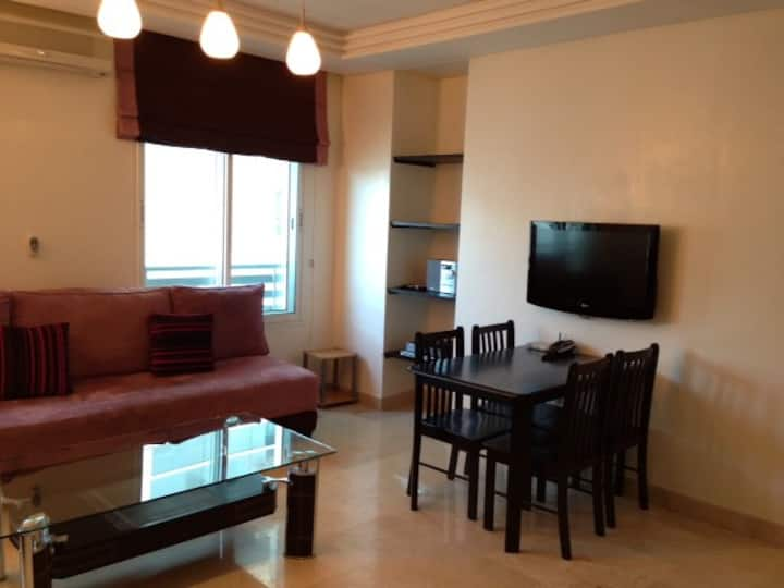 1 BR fully equiped/Good situation