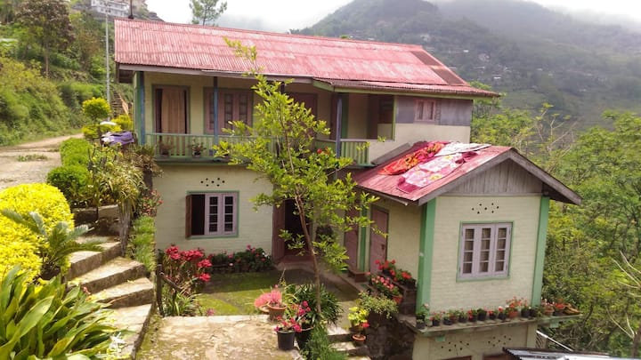 Hills view homestay in a green village (Khonoma)