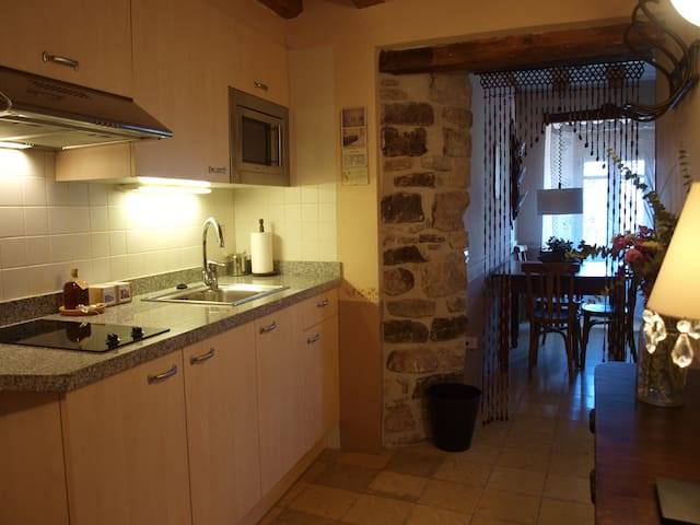 Rural cottage for 4 people at 1h from Barcelona - Castellbell i el Vilar - Lejlighedskompleks