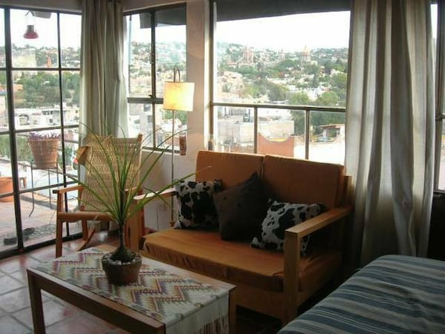Penthouse features incredible view