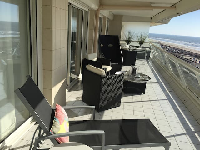 Appartement face mer, vue panoramique wifi parking - Le Touquet-Paris-Plage - Apartamento