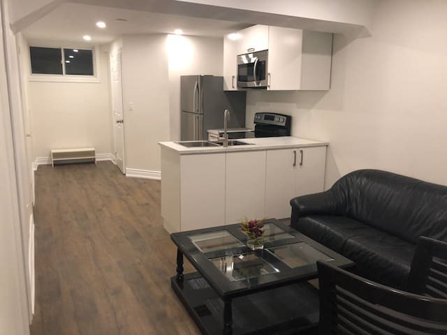 Brand new luxury basement apartment