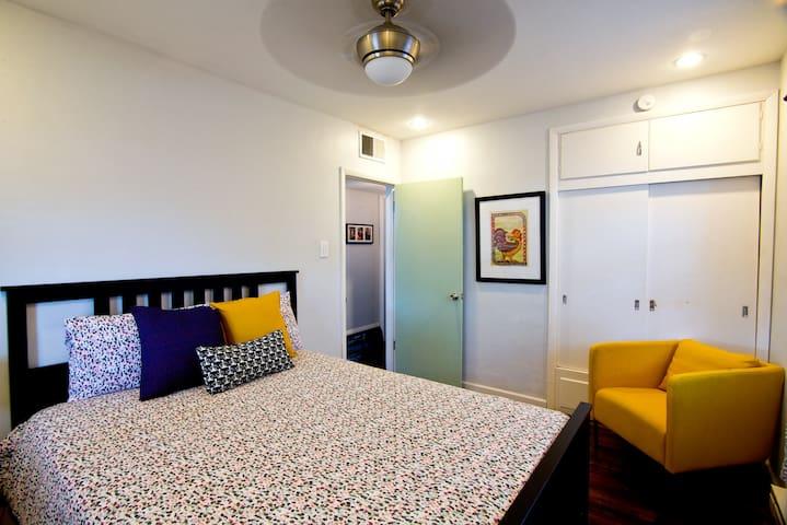 Super comfy 2nd bedroom