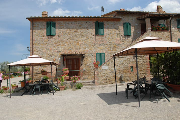 Lovely apartment in Umbria, Italy - Panicale - Huoneisto