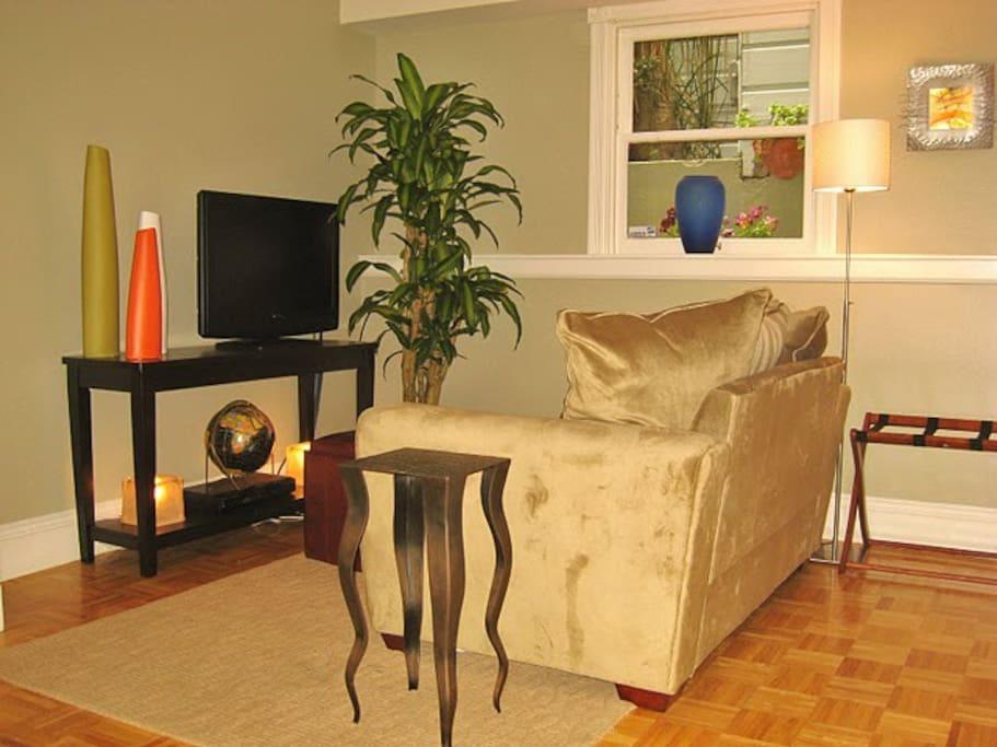 Living Room Sofa (bigger TV now)