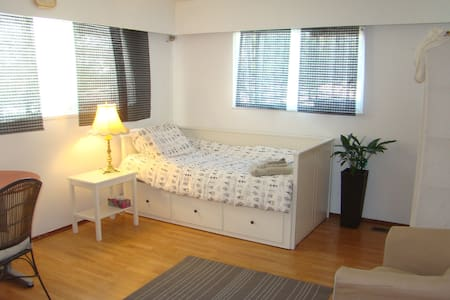 NEW! Private, Bright & Quiet, Close to all Transit - Vancouver