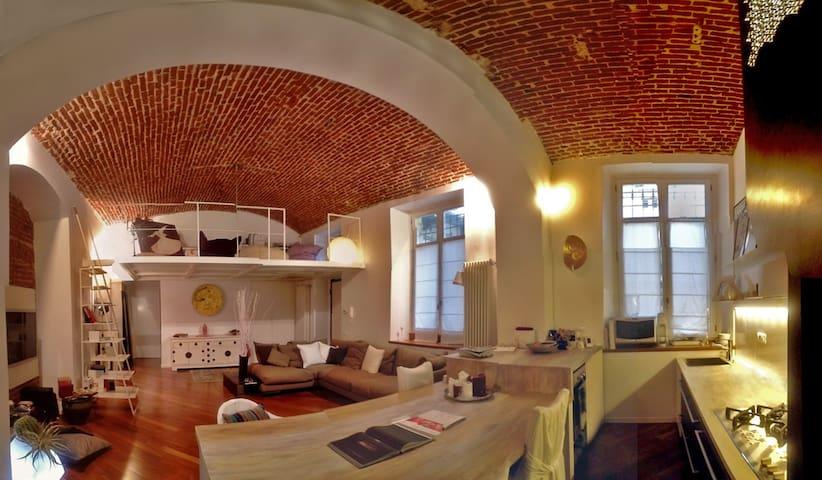 Fantastic loft in Liberty Turin - Turín - Loft