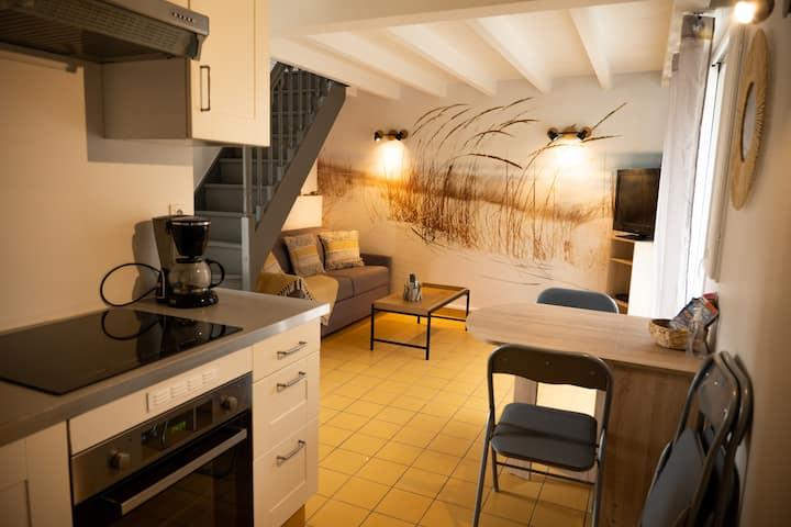 Petite Maison située entre Saint-Malo et Cancale