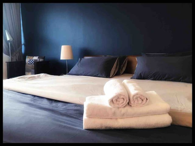 All our bedrooms are equipped with Comfy bed and high tread linen. We provide towel and toiletries are provided.