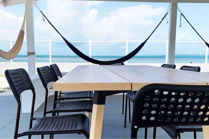 Oceanfront w/Gazebo&Direct Beach access Free Kayak