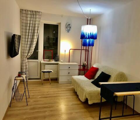Уютная студия в новом районе