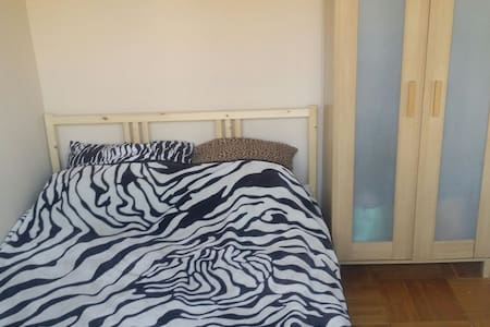 FRESH Room for couple with huge bed - Wrocław
