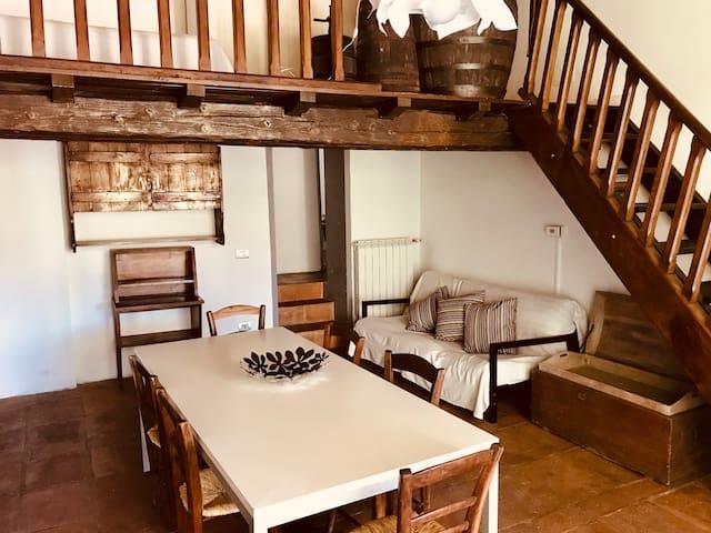 Magic Tuscan Hills apartment with pool - La Tinaia