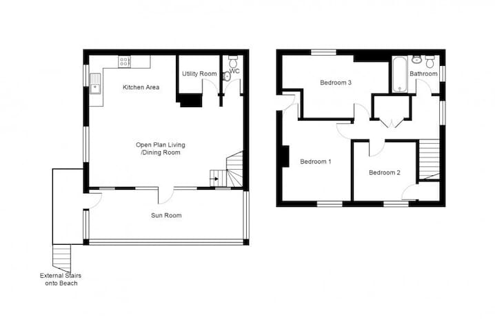 Floorplan of Flat Surf