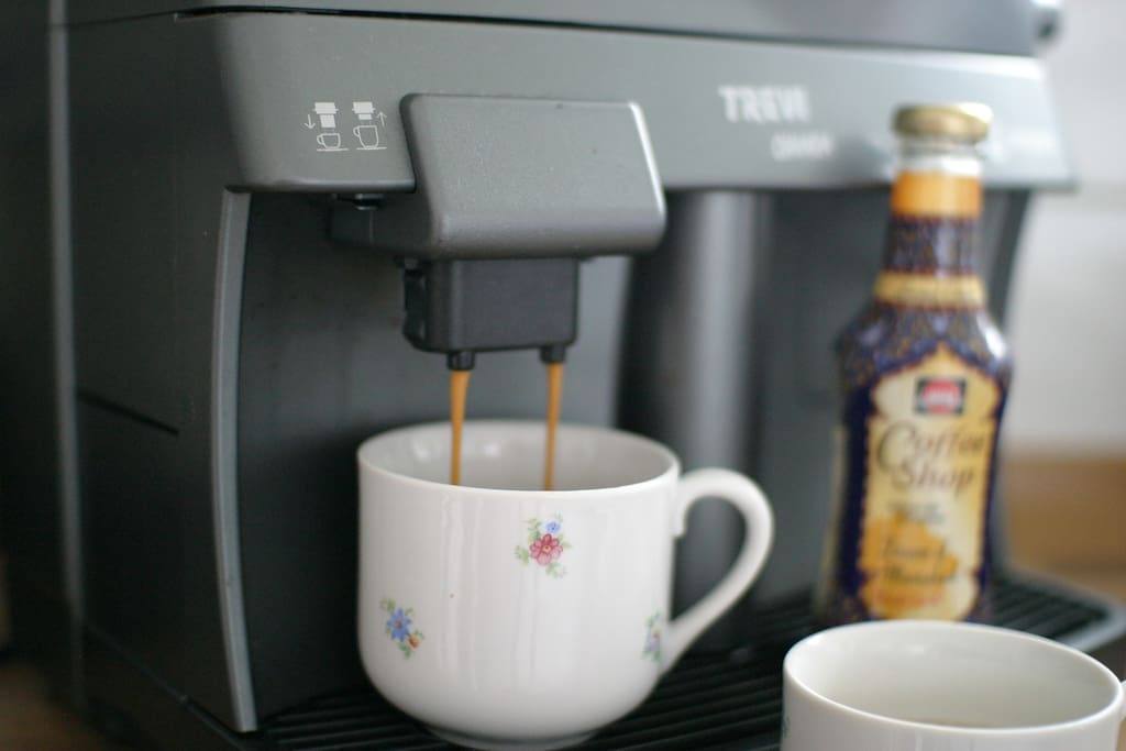 Kaffee zum Frühstück!