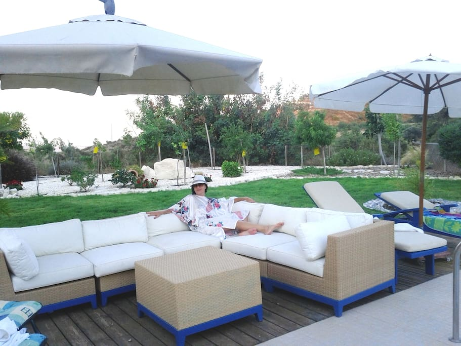 Outdoor living Cyprus style
