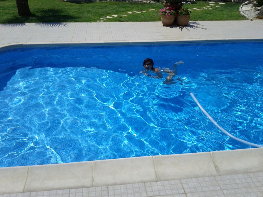 The pool - perfect after some time in the sun