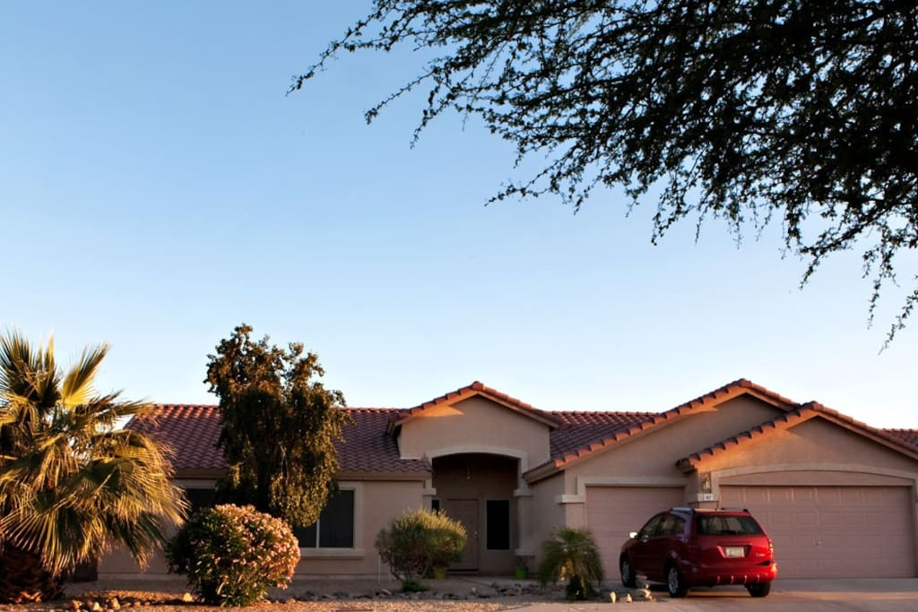 Our home is located in a safe and quiet neighborhood.