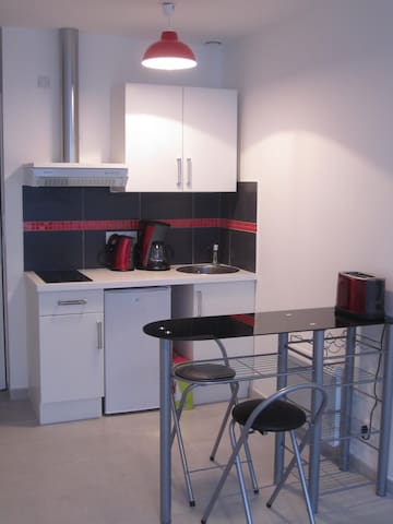 studio neuf plein sud avec terasse - Aytré - Appartement