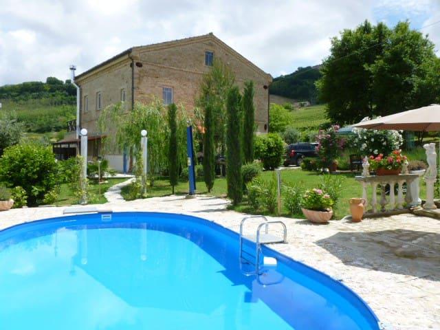 2007 Restaur.Landhaus 10 km z.Meer - Montefiore dell'Aso - Apartment