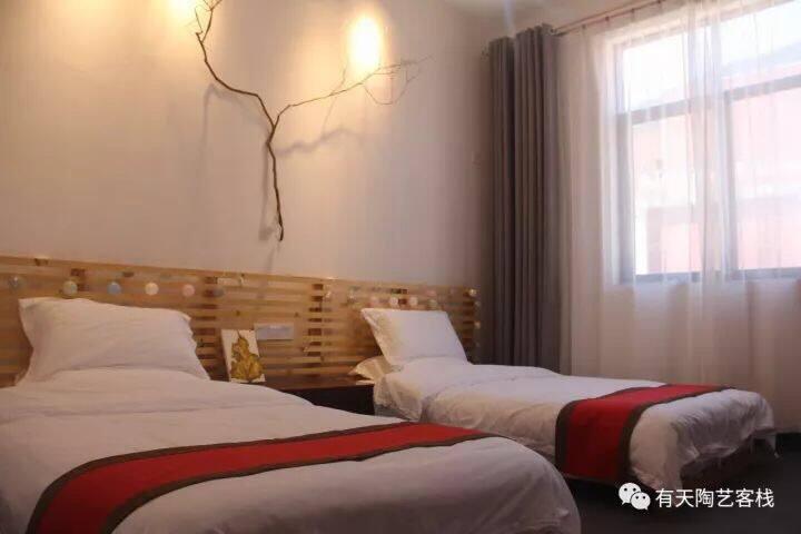 天竹房,竹林标间,1.2米,双床房
